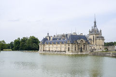 Kasztel Chantilly Fotografia Royalty Free