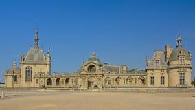 Kasztel Chantilly, France, główny budynek obraz royalty free