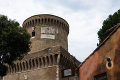 Kasztel Giulio II Ostia Fotografia Royalty Free