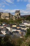 Kasztel Larochette, Luksemburg Zdjęcie Royalty Free