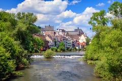 Kasztel Marburg, Hessen, Niemcy zdjęcia stock