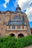 Kasztel Marburg, Hessen, Niemcy fotografia royalty free
