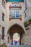 Kasztel Marburg, Hessen, Niemcy obrazy royalty free