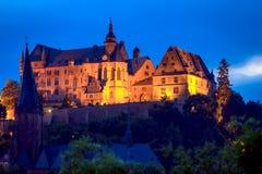 Kasztel Marburg, Hessen, Niemcy obraz stock