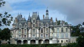 Kasztel montigny Le Gannelon, renaissance okres zdjęcie stock