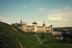 Kasztel Podróż architektura Ukraina Natura Krajobraz Zdjęcia Stock