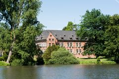 Kasztel Reinbek, Niemcy fotografia stock
