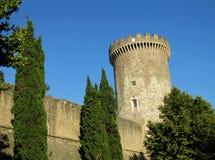 Kasztel Rocca Pia, Tivoli, Rzym obraz royalty free