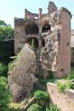kasztel ruiny Zdjęcia Royalty Free