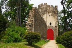 kasztel ruiny Obraz Royalty Free