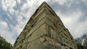 Kasztel ruiny rycerze templariusz stary w Transcarpathia zbiory