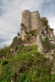 Kasztel ruiny w Szwajcaria (HDR) obraz royalty free
