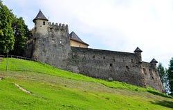 Kasztel, Stara Lubovna, Sistani, Europa obrazy royalty free