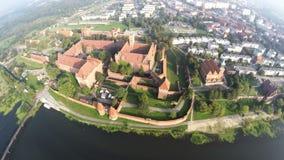Kasztel Teutoński rozkaz w Malbork, Polska zdjęcie wideo