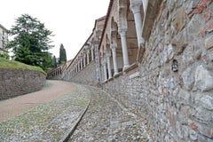 Kasztel Udine, Włochy zdjęcia royalty free