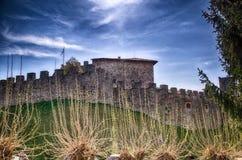 Kasztel Villalta Włochy (UDO) Obraz Royalty Free