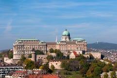Kasztel w Budapest, Węgry zdjęcie stock