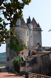 Kasztel w Europa (Francja) Obrazy Royalty Free