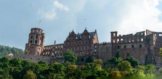Kasztel w Heidelberg, Niemcy Obraz Stock