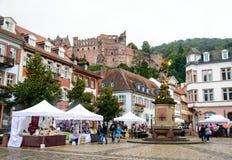 Kasztel w Heidelberg, Niemcy Fotografia Stock
