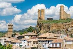 Kasztel w Hiszpania obrazy stock