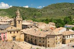 Kasztel w Hiszpania zdjęcie stock