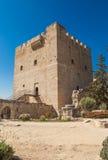 Kasztel w Kolosi, Cypr Obrazy Royalty Free