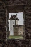 Kasztel w Narva, Estonia obraz royalty free