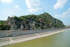 Kasztel w rockowym Budapest Zdjęcie Royalty Free