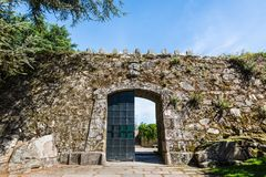 Kasztel w Vigo, Hiszpania Obraz Royalty Free
