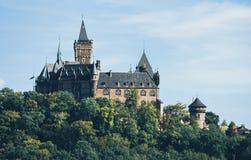 Kasztel w Wernigerode Niemcy obrazy stock