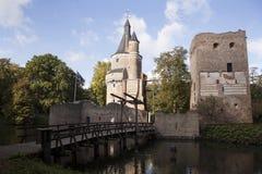 Kasztel w Wijk bij duurstede Fotografia Royalty Free