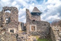 Kasztel w wiosce Nevicke, Ukraina obraz stock