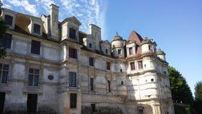 Kasztele Francja: Ambleville obrazy stock