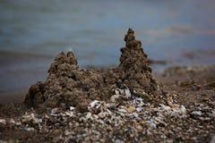 Kasztele w piasku Zdjęcia Stock