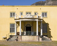 Kat Balcony. The Kat Balcony in the Castle of Good Hope in Cape Town, South Africa is an outstanding feature of a dividing wall that separates the inner stock photo