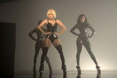 Kat DeLuna新的音乐录象想要发现您跳舞 免版税库存图片