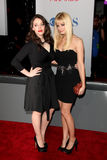 Kat Dennings, Beth Behrs Stock Photos