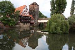 kat domowy Nuremberg s Zdjęcia Royalty Free