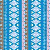 kat geometric folklore ornament. Tribal ethnic vector texture. Seamless striped pattern in Aztec style. Figure tribal embroidery. stock illustration