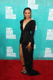 Kat Graham arriving at the 2012 MTV Movie Awards Stock Image