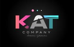 Free KAT K A T Three Letter Logo Icon Design Royalty Free Stock Photo - 98914615