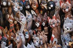 Kat - kunst en ambacht Royalty-vrije Stock Afbeelding