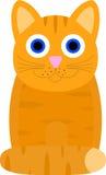Kat met grote ogen Royalty-vrije Stock Afbeelding