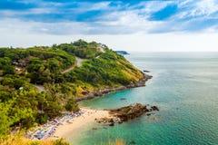 Kat plaża, Phuket, Tajlandia zdjęcie stock