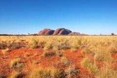 Kat Tjuta Olgas, terytorium północne, Australia zdjęcie royalty free