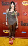 Kat Von D. Attends the Spike TV 2nd Annual Guys Choice Awards held at the Sony Pictures Studios in Culver City, California, United States on May 30, 2008 stock images