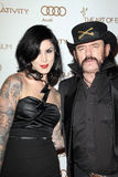 Kat Von D, Lemmy Kilmister Royalty Free Stock Photos