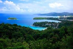 Kata Ansicht-Punkt, Phuket, Thailand Stockfoto