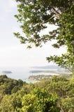 Kata beach hill Stock Photography